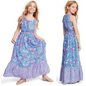 Lilly Pulitzer Target My Fans Maxi Dress NWOT Girl
